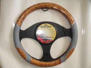 steering wheel cover gray in Steering Wheels & Horns