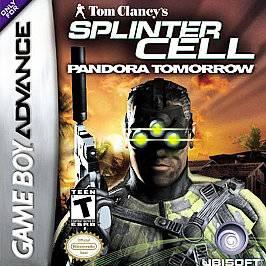 Tom Clancys Splinter Cell Pandora Tomorrow Nintendo Game Boy Advance