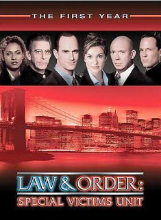 Law Order Special Victims Unit   The First Year DVD, 2003, 6 Disc Set