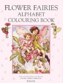 Alphabet Coloring Book by Cicely Mary Barker 1994, Book, Other