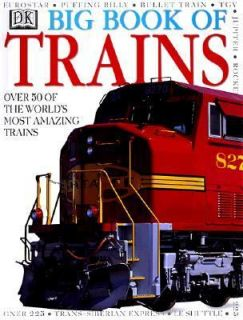 The Big Book of Trains by Dorling Kindersley Publishing Staff 1998