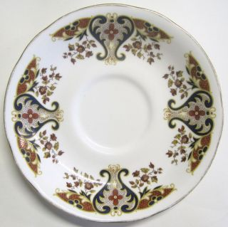 Vintage Bone China Colclough England Royale Pattern Saucer