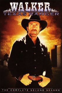 Walker Texas Ranger   The Complete Second Season DVD, 2007, 7 Disc Set
