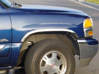DODGE RAM DUALLY TRUCK 1994   2001 TFP CHROME FENDER TRIM MOLDING