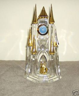 FRANKLIN MINT CINDERELLA CASTLE  GOLD PLATED SLIPPER