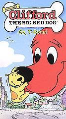 Clifford the Big Red Dog   Go, T Bone VHS, 2002