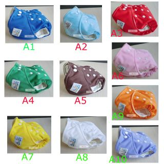 LOTS Baby Infant Re usable Cloth Diapers Nappy Cover Pocket Liner