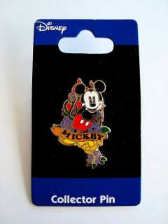 Disney Mickey Mouse Tattoo Collector Pin M2934A