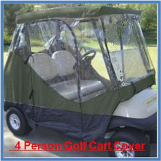 Waterproof Heavy Duty Golf Cart Storage Cover 4 Persons Club Car PG2AT