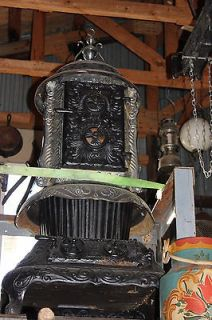 ANTIQUE COAL BURNING STOVE