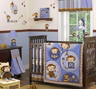 Crib Bedding Baby Bedding Cocalo Monkey Mania Baby Crib Bedding Set