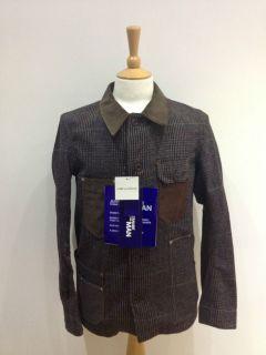 Junya Watanabe MAN Comme Des Garcons Brown Green Tweed blazer style