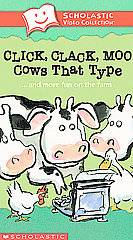 Click, Clack, Moo Cows That Typeand More Fun on the Farm VHS, 2003