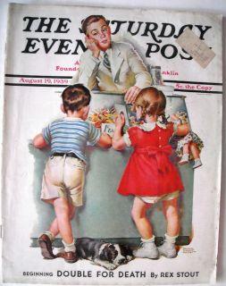 SATURDAY EVENING POST MAGAZINE,8 19 1939,FRANCES TIPTON HUNTER