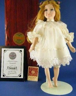 Doll 18 Porcelain Doll Butterfly Princess 1991 Anna Collection