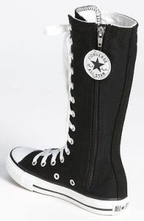 CONVERSE~Knee High~YOUTH~11,​12,13,1,2,3,4,​5,6~BLACK~NEW