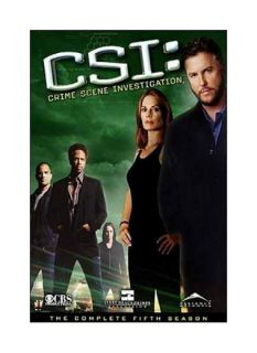 CSI Crime Scene Investigation   The Complete Fifth Season DVD, 2005, 7