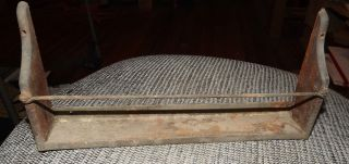 Antique Hoosier Cabinet Extract Rack , mounts to back of door