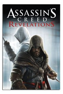 Assassins Creed Revelations Knives Poster Gloss Laminated New Sealed