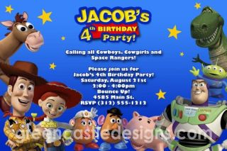 toy story invitations in Invitations & Announcements