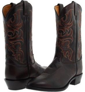 Mens Tony Lama 7924 Brown Antique Regal Leather Riding Cowboy Boot