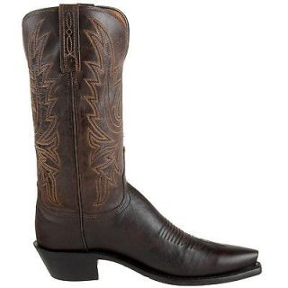 Lucchese 1883 Womens leather Cowboy Boots N4554 Brown