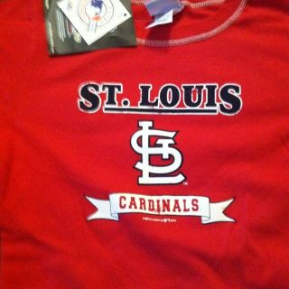 Womens St. Louis Cardinals Pujols Tee Shirt NWT Size XLarge