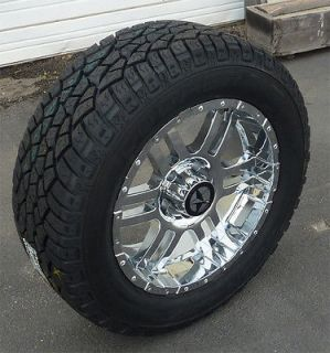20 inch Chrome Wheels and Tires Dodge Truck, Ram 1500 20x9 Rims