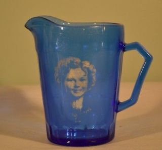 Vintage Shirley Temple Hazel Atlas Milk Pitcher Creamer
