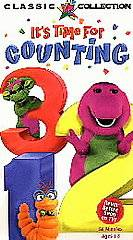 Barney   Its Time For Counting VHS, 1998