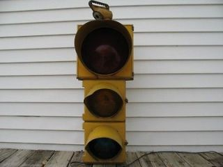 vtg Crouse Hinds Type R 12 8 8 Traffic Signal Stop Light Converted w