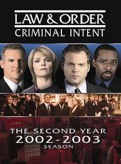 Law Order Criminal Intent   The Second Year DVD, 2006, 5 Disc Set