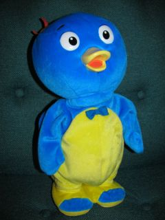 Backyardigans Pablo Dance Sing Plush Fisher Price Stuffed Animal 2005