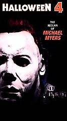 Halloween 4 The Return of Michael Myers VHS, 1999