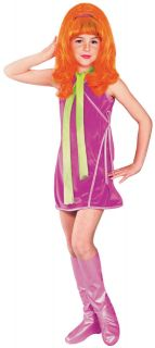 Child Small Scooby Doo Daphne Girls Costume   Scooby Doo Costumes
