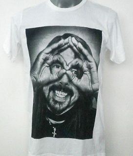 DAVE GROHL FOO FIGHTERS NIRVANA T SHIRT WHITE SIZE Medium