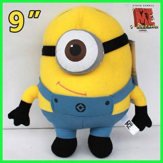 Despicable Me Minion 3D Eye 22CM Stewart Plush Toy Stuffed Animal Doll
