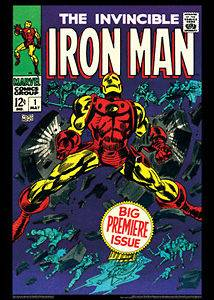 THE INVINCIBLE IRON MAN #1 (May 1968) Marvel Comics Cover Poster