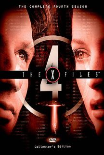 The X FIles   The Complete Fourth Season DVD, 2004, 7 Disc Set