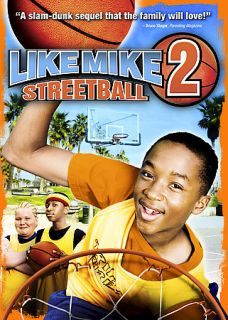 Like Mike 2 Streetball DVD, 2006, Dual Side