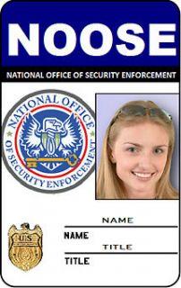 Custom NCIS ID Card GTA NOOSE Security Badge