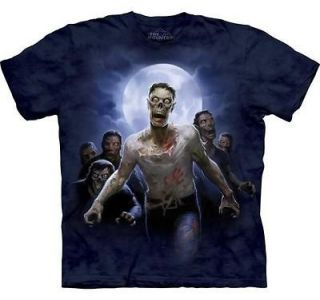New ZOMBIE HORDE Horror The Walking Dead T Shirt S 3XL The Mountain