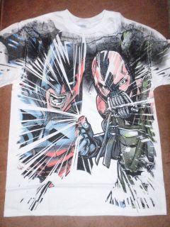 Mens DC Comics Batman Dark Knight Rises Bane White T Shirt New with