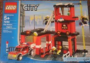 Lego City/Town # 7240 Fire Station New MISB HTF