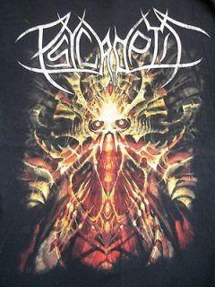 OB(SERVANT) band T Shirt SM BLACK/death metal core thrash grind rock