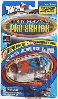 1999 Tech Deck Toy Machine ELISSA STEAMER Tony Hawk Pro Skater Board