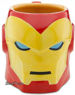 Marvel SCULPTURED IRONMAN IRON MAN HELMET 3 D Coffee CUP MUG NEW
