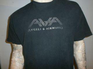 AIRWAVES T SHIRT Concert Tour Blink 182 Tom DeLonge XL Free USA Ship
