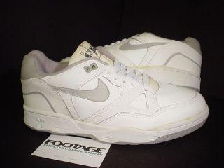 Original OG Nike Air Delta Force 1 Low Basketball White Grey Black 7.5