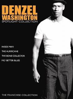 Denzel Washington Spotlight Collection DVD, 2007, 4 Disc Set, The